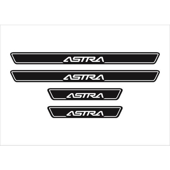 Ömr Dizayn Hediye Astra 4'lü Kapı Eşiği Oto Aksesuar Beyaz