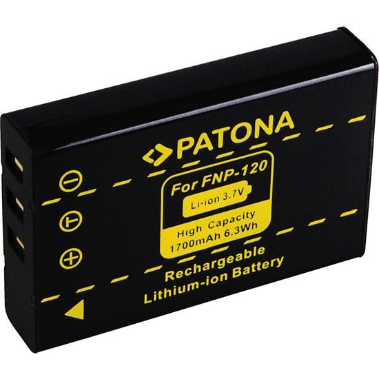Patona Fuji F10 F11 FINEPIX603 İçin NP-120 Batarya Db-43 D-LI7