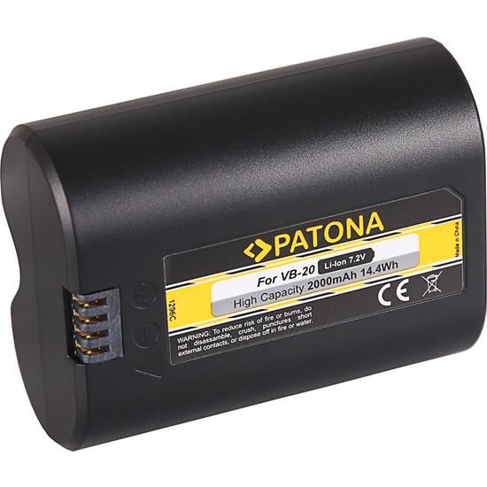 Patona Godox VB20 V350S/C/N/O/F Speedlite Blitz İçin Vb-20 Batarya