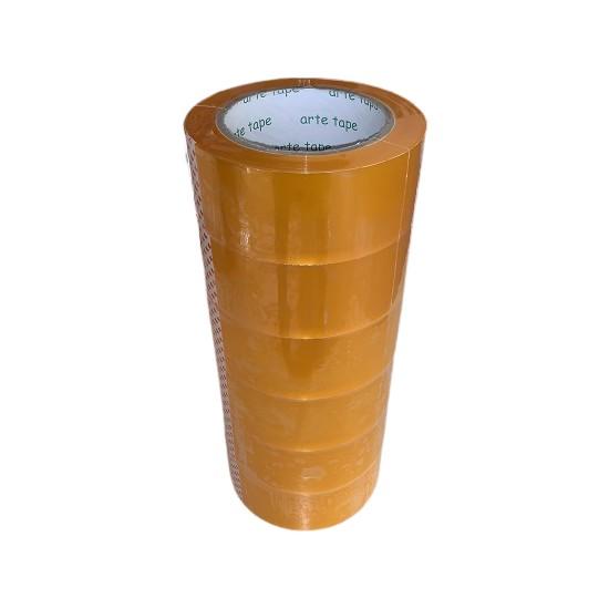 Arte Tape 45 Mm x 100 M Şeffaf Koli Bantı-6 Lı Paket