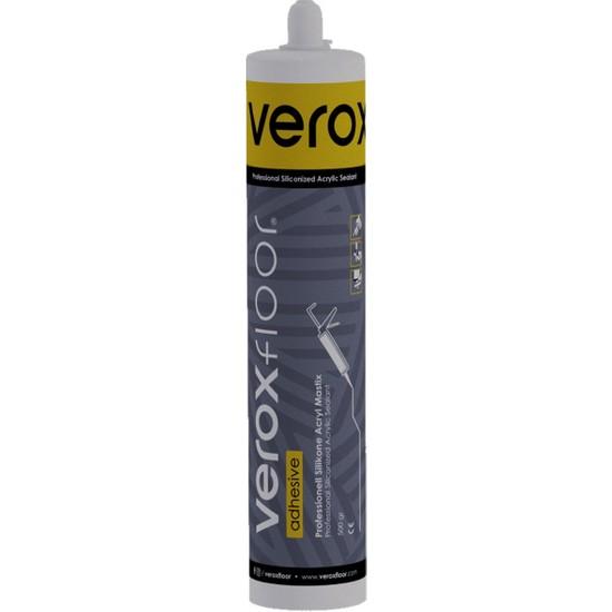 Veroxfloor Akrilik Mastik Gri 500 Gr. Profesyonel, İzolasyon, Rötuş Ve Dolgu