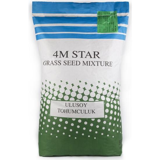 Ulusoy Tohumculuk 4M Star Çim Tohumu Karışımı 10Kg