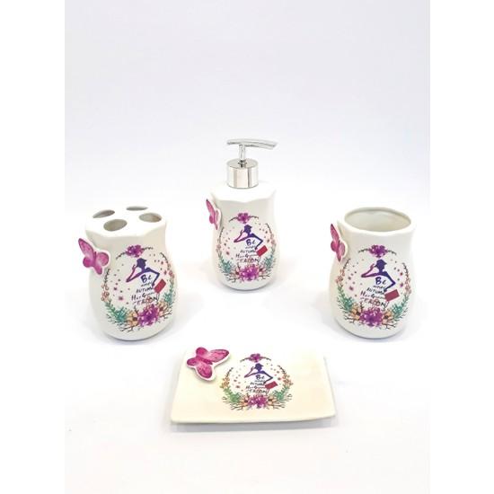 Cvs DN-70612 Porselen Banyo Takımı