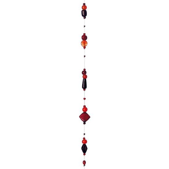 Rader Cam Boncuk Dizisikırmızı 4821
