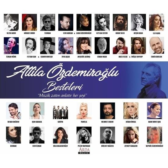Arda Müzik Attila Özdemiroğlu Besteleri - CD