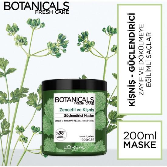 Botanicals Fresh Care Zencefil ve Kişniş Güçlendirici Maske 200 ml