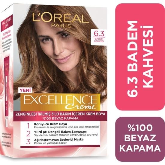 L'oréal Paris Excellence Creme Saç Boyası 6.30 Badem Kahvesi