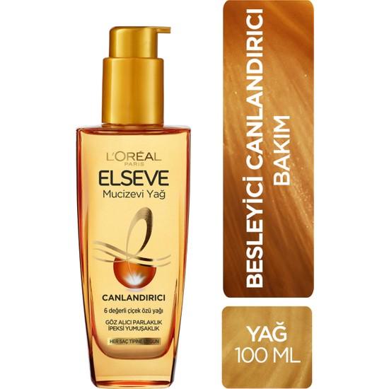 L'Oréal Paris Elseve Mucizevi Canlandırıcı Bakım Yağı 100 ml
