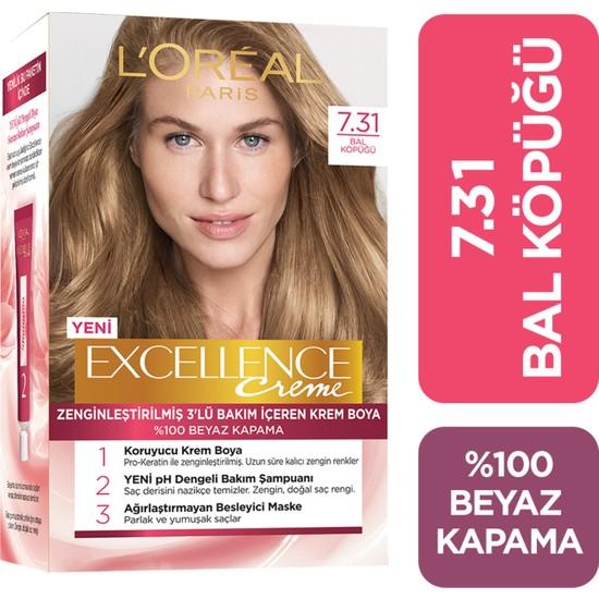 L'oréal Paris Excellence Creme Saç Boyası 7.31 Bal Köpüğü