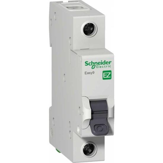 Schneider Electric Easy9 Mcb 1P 25A B 3Ka 230V Anahtarlı Otomatik Sigorta