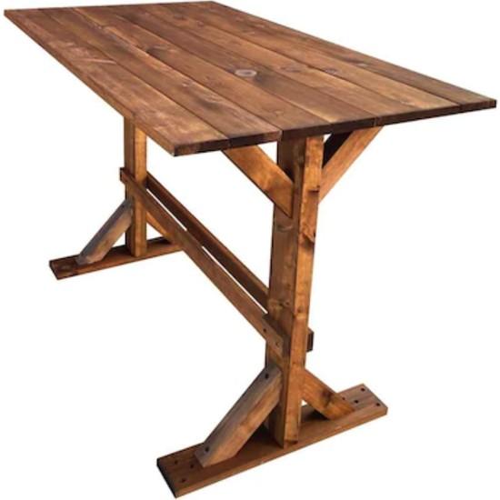 Weblonya Bahçe Masası Mutfak Yemek Masası 5139
