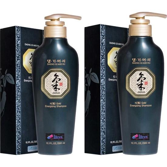 Ki Gold Ginseng Şampuan 2 Adet 300 ml