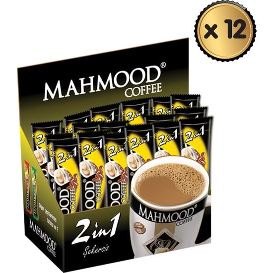 Mahmood Coffee 2si1 Arada 48 Adet x 12 Paket -1 Koli