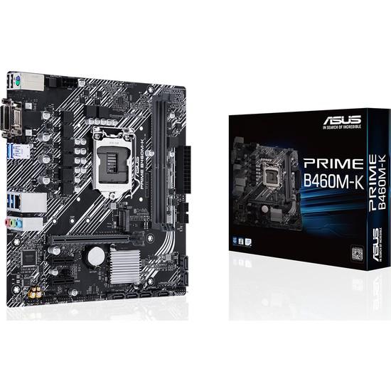 Asus Prime B460M-K Intel B460 DDR4 2933 MHz Lga1200 mAtx Anakart