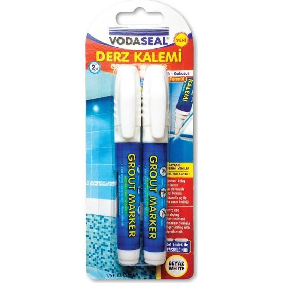 Vodaseal Derz Kalemi 2li Beyaz 2li Set
