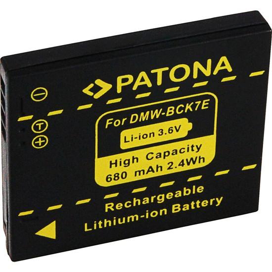 Patona Panasonic Dmc-Fh2 Fh5 Fh7 FH25 İçin DMW-BCK7E Batarya