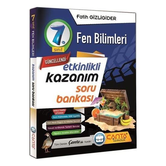 Çanta Yayınları 7. Sınıf Fen Bilimleri Etkinlikli Kazanım Soru Bankası