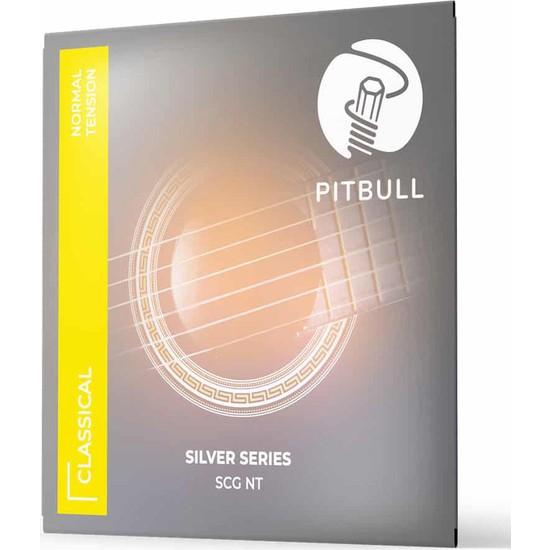 Pitbull Strings Silver Series Scg Nt Takım Tel Klasik Gitar Teli