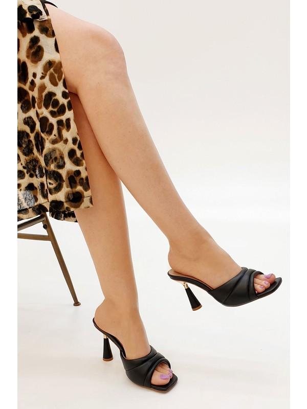 Marjin Kadın Penlo Topuklu Terlik