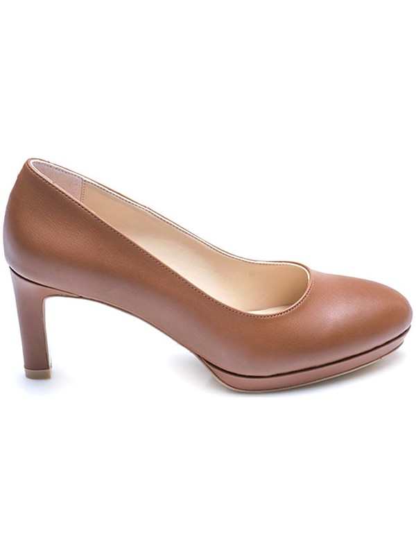 Kemal Tanca Platform Kadın Klasik Ayakkabı 1235