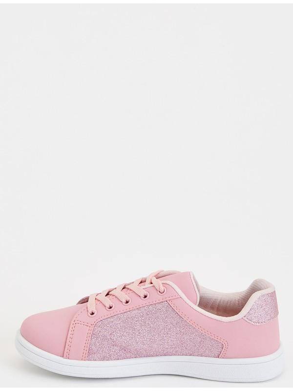 DeFacto Kız Çocuk Pul Detaylı Sneakers Ayakkabı N6216A620AU