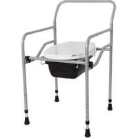 Medopar Seyyar Katlanabilir Klozetli Tuvalet Sandalyesi