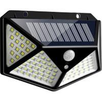 Mighty Solar Bahçe Lambası 100 Ledli Sensörlü Solar Lamba Güneş Enerjili Bahçe Aydınlatma