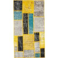 Grand Hedef Halı Özel Multi Renk Patchwork El Dokuma Halısı 80 x 150 cm