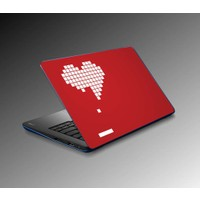 Jasmin Laptop Sticker Heart Gaming