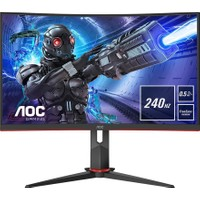 "AOC C27G2ZE/BK 27"" 240Hz 0.5 ms (HDMI+Display) FreeSync Full HD Curved LED Monitör"