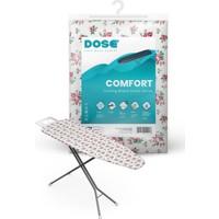 Dose Comfort Ütü Masası Kılıfı Bezi Örtüsü %100 Pamuk, Kalın Keçeli, Lastikli, 140x50 cm