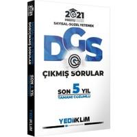 Yediiklim Yayınları 2021 Prestij Serisi DGS Tamamı Çözümlü Son 5 Yıl Çıkmış Sorular