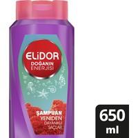 Elidor Doğanın Enerjisi Yeniden Dayanıklı Saçlar Kırmızı Yosun Özlü Şampuan 650 ml