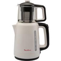 Moulinex BJ2021TR Cam Demlikli 1700 Watt Çay Makinesi [Krem] - 9100034267