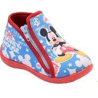 Gigi Mickey Mouse Erkek Çocuk Fermuarlı Panduf 90112