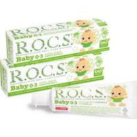 Rocs Baby Diş Macunu Papatya Özlü 45 gr x 2 Adet