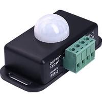 Alfa Hareket Sensörü Dc 12V 24V Pır Dedektör Hareket Sensörlü