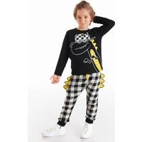 Denokids Rap Dino Erkek Çocuk Pantolon Takım