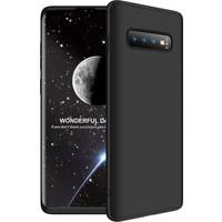 Zore Ays Kapak - Samsung Galaxy S10 Plus Kılıf 360 Tam Koruma Kılıf - 360 Derece Tam Koruma