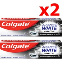 Colgate Advanced White Charcoal Diş Macunu 2 x 75 ml