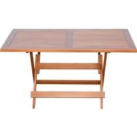 Bahçeme Ahşap Bahçe Balkon Mutfak Masası -Bodrum Katlanabilir 80X120