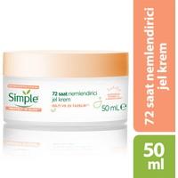 Simple Protect&Glow Vitamin C ve Zencefil Kökü İçeren 72 Saat Nemlendirici Jel Krem 50 ML