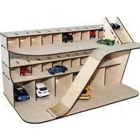 Tsd Dekorasyon Maket Hot Wheels Garajı
