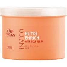 Wella Invigo Nutri-Enrich Derinlemesine Besleyen Maske 500 ml