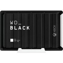 """WD Black D10 Game Drive For XBox 12TB 3.5"""" USB 3.2 Harici Disk WDBA5E0120HBK-EESN"""