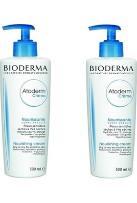 Bioderma Atoderm Cream 500 ml - 2 Adet