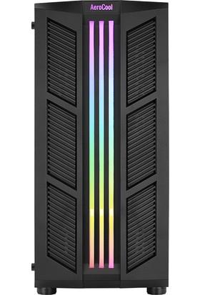 Aerocool Prime RGB v3 500W 2x12cm Fanlı RGB Led Şerit USB 3.0 Bilgisayar Kasası (AE-PRM-V3P500)