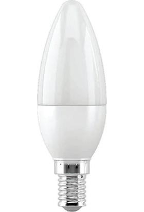 Tekideal 5 Adet Cata 7W Ledli Buji Ampul E14 Duylu Ct-4079 - Beyaz Işık