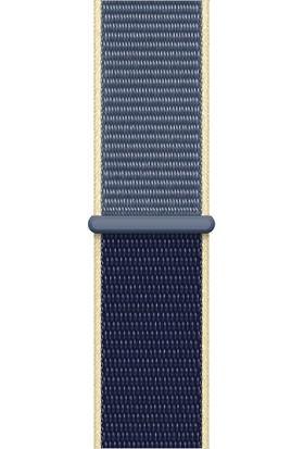 Quse Apple Watch Seri 7 6 5 4 3 2 1 SE 38mm-40mm-41mm Spor Loop Dokuma Kordon