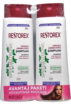 Restorex Saç Dökülmesine Karşı Şampuan 500 ml 2'li